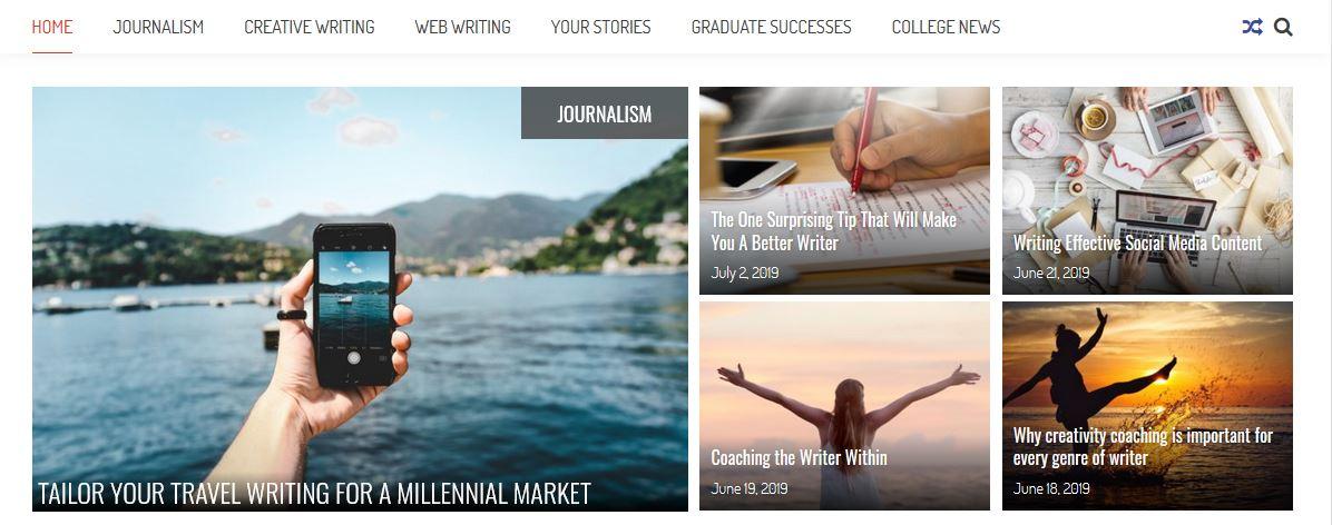 Writers College Blog